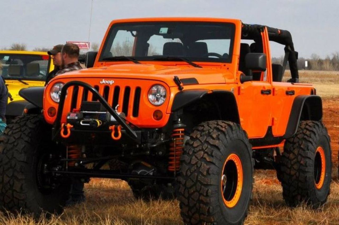 Burnt Orange Orange Jeep Jeep Truck Jeep