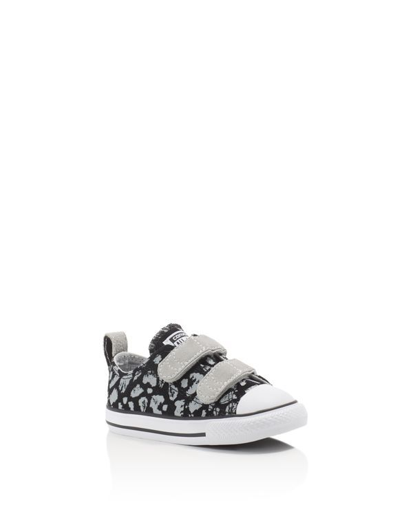 fbcfc9962540 Converse Girls  Chuck Taylor All Star Animal Print Velcro Strap Sneakers -  Walker
