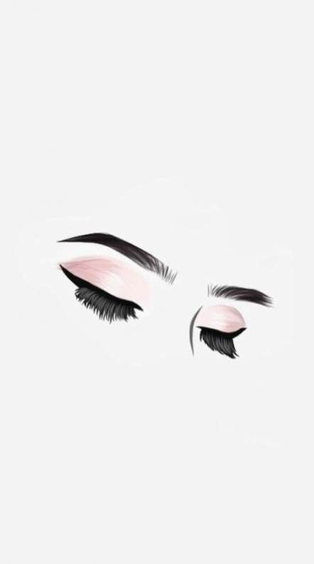 13 makeup Wallpaper drawing ideas