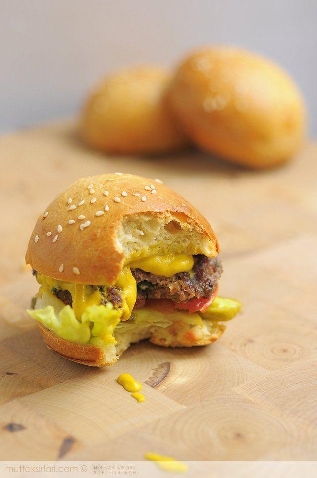 Ev Yapimi Hamburger