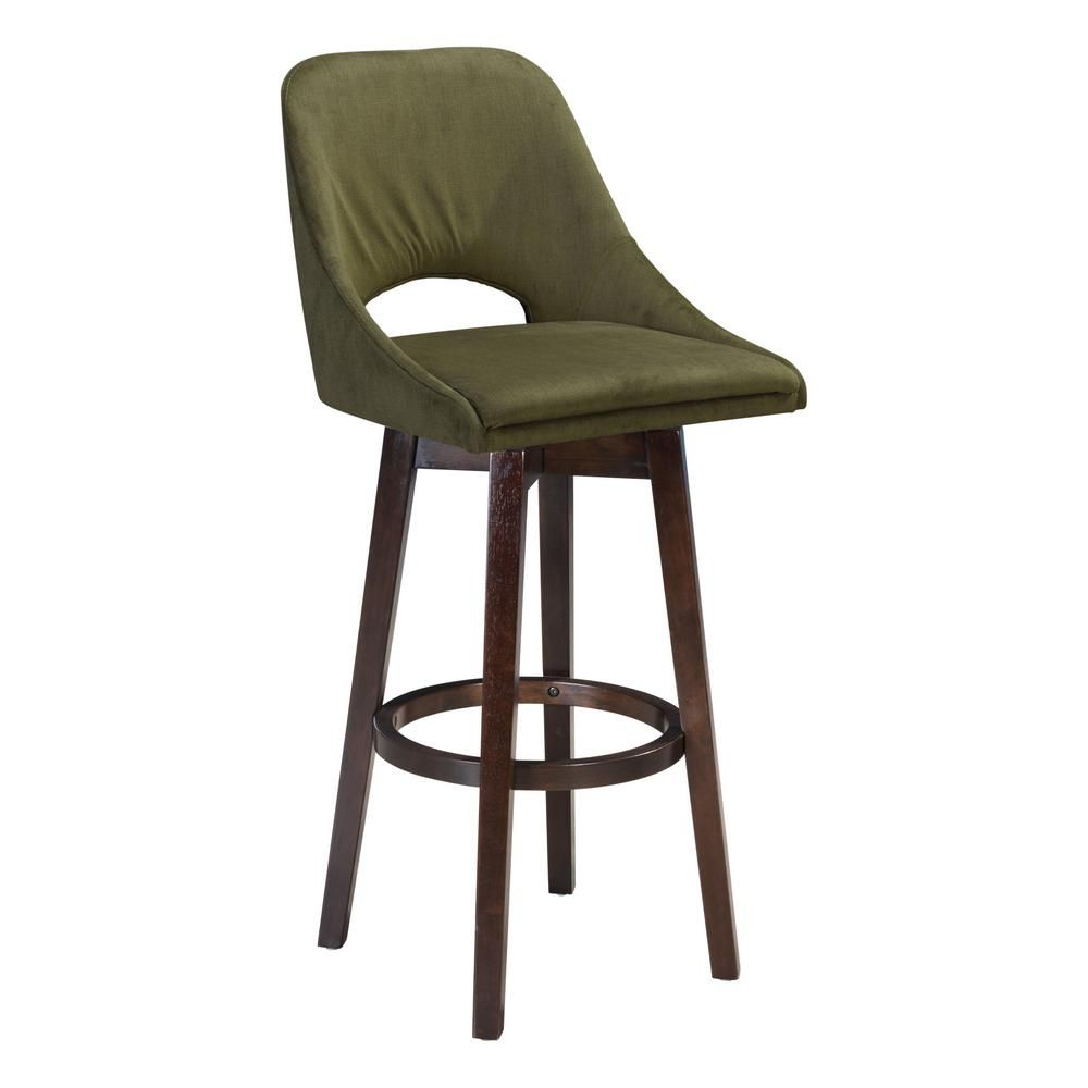 Super Zuo Ashmore 42 9 In Emerald Green Bar Chair Products Evergreenethics Interior Chair Design Evergreenethicsorg