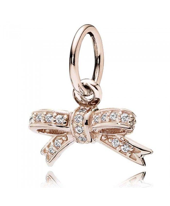 e2d6dd8c6 Black Friday Pandora Rose Sparkling Bow Pendant Clearance Sale ...