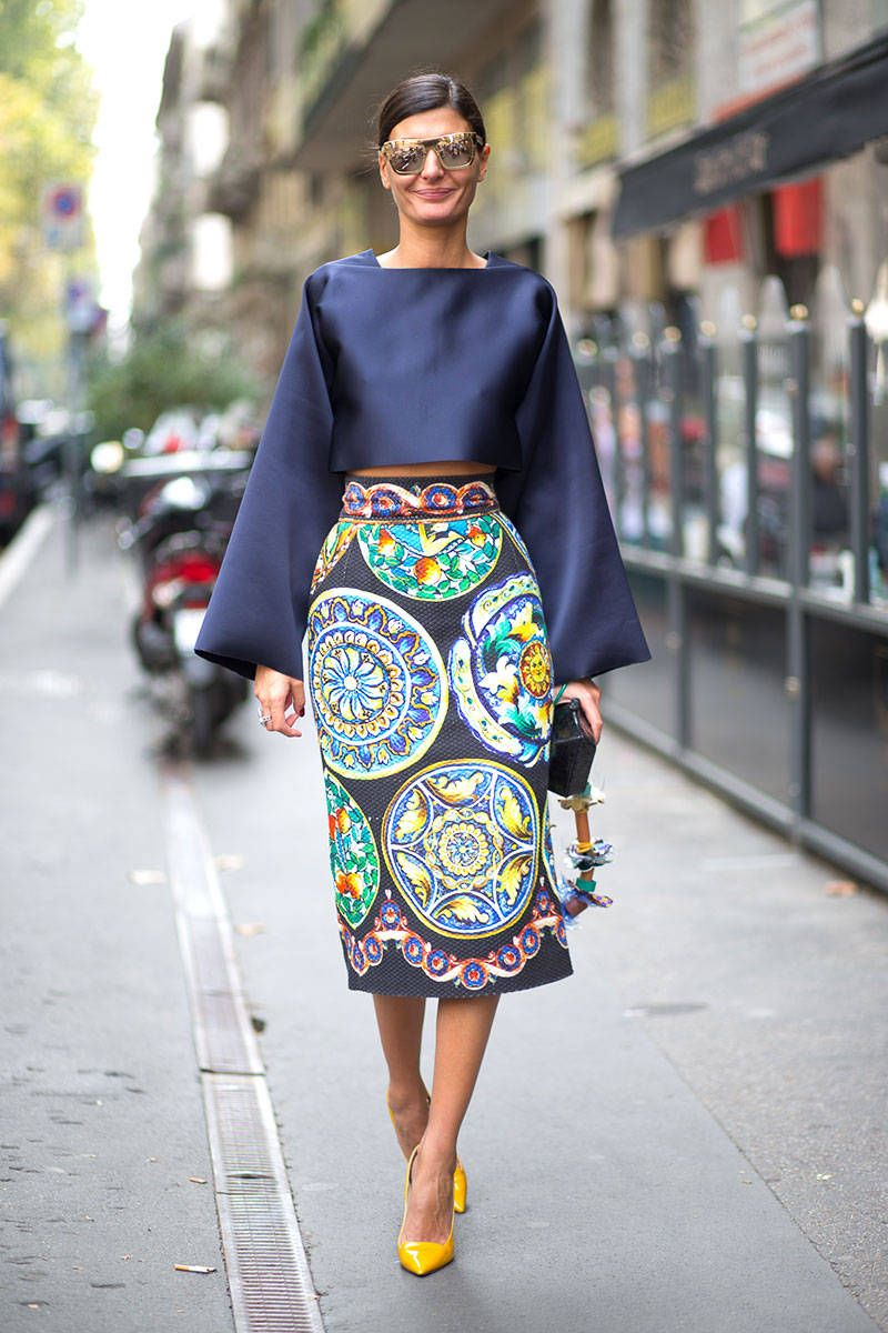Street Style - Milan Fashion Week Street Style Spring 2015 - Harper s BAZAAR b6509d493