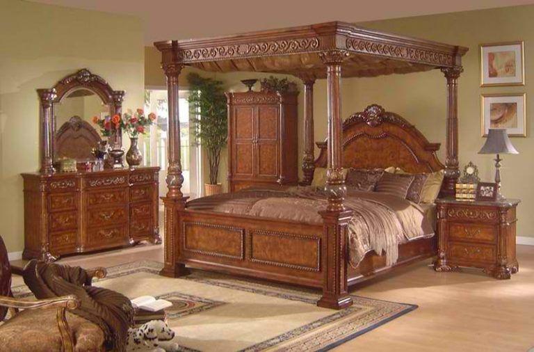 2018 الوان خشب غرف نوم Https Decor30 Com Wood Bedroom Sets Canopy Bedroom Canopy Bedroom Sets
