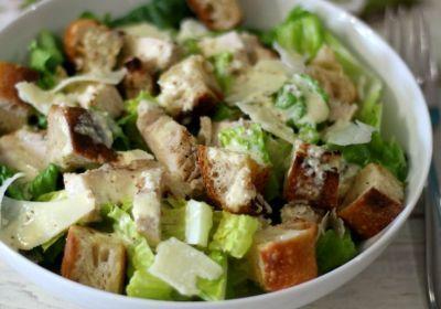 receta de ensalada cesar saludable