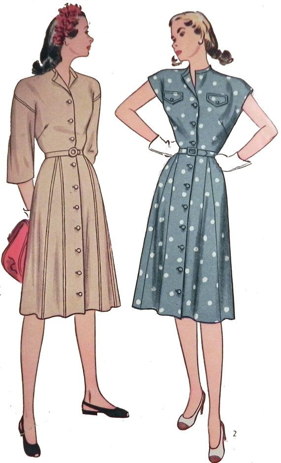 Pin On 1940s Vintage Sewing Patterns