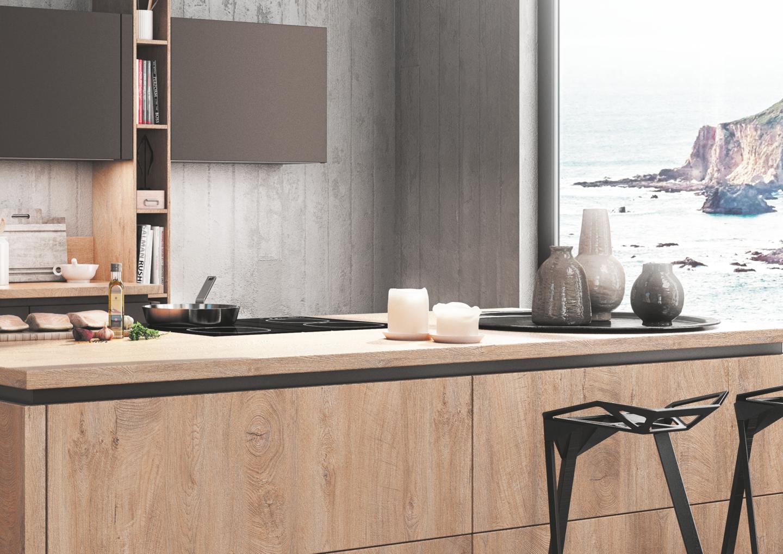 Elegant BAUFORMAT Küchen Bali 185 Und Porto S 390 FG 4489 Hochwertige Materialien,  Edle Oberflächen Und