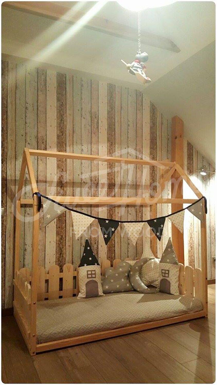 Children Bed Twin Size Montessori Bed Floor Bed Children Crib