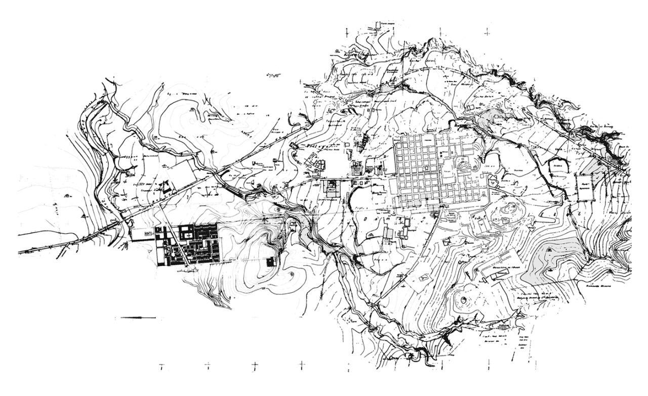 Residencial complex at Timgad Timgad - Batna, Algérie; 1957-62 ...