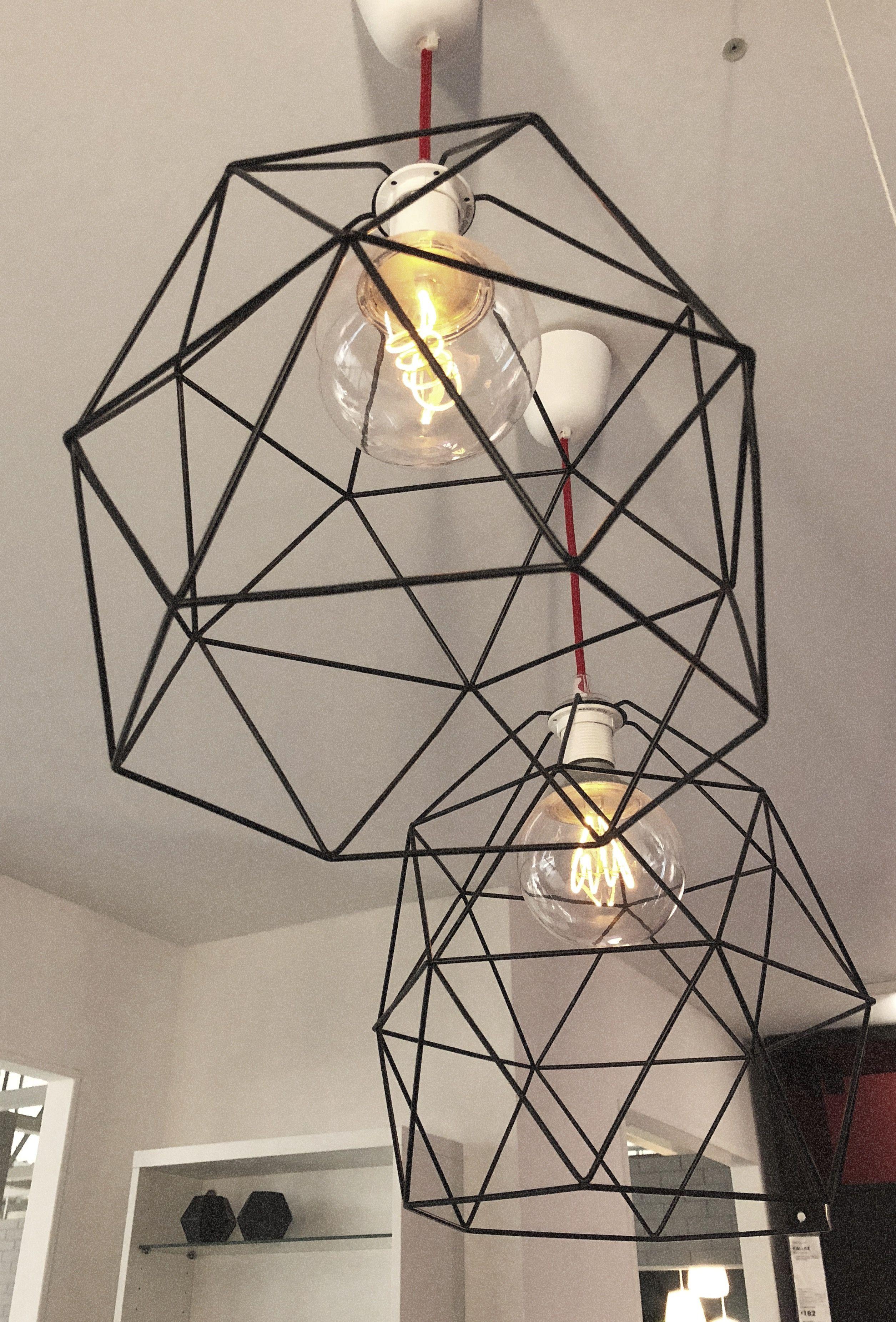 Brunsta Pendant Lamp Shade Black Ikea In 2019