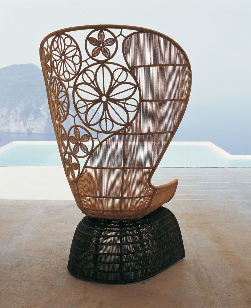 Sedia Urquiola B&amp Armchair Crinoline Collection B B Italia Outdoor Design