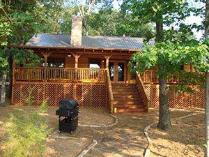East Texas Lake Cabin Rentals, Deer Lake Cabins