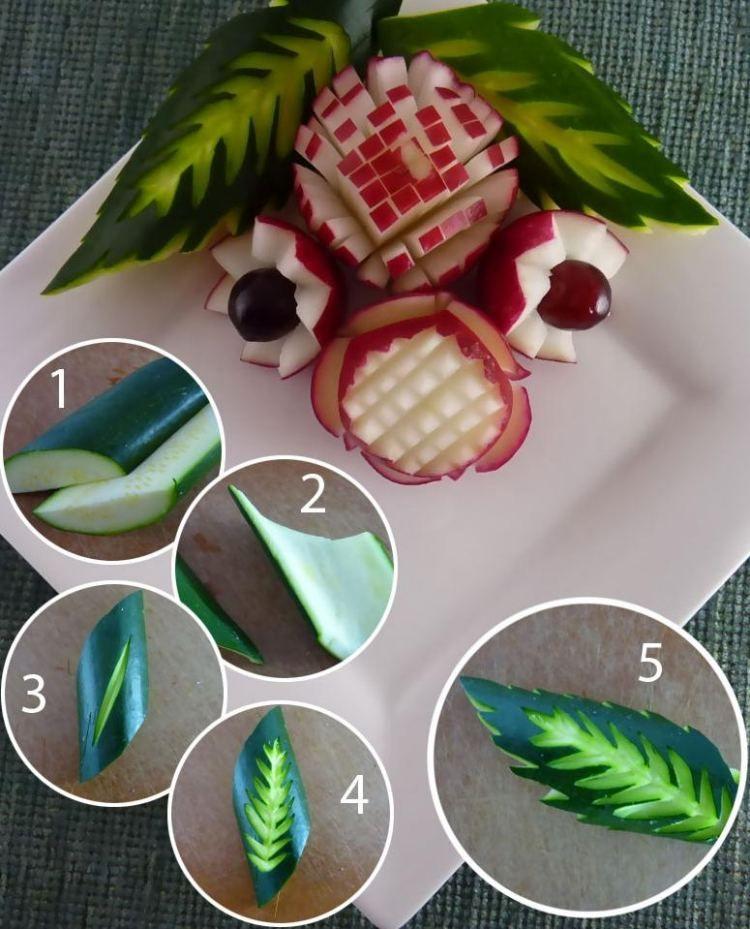 zucchini mit dunkelgr ner schale schnitzen art pinterest schnitzen zucchini und schals. Black Bedroom Furniture Sets. Home Design Ideas