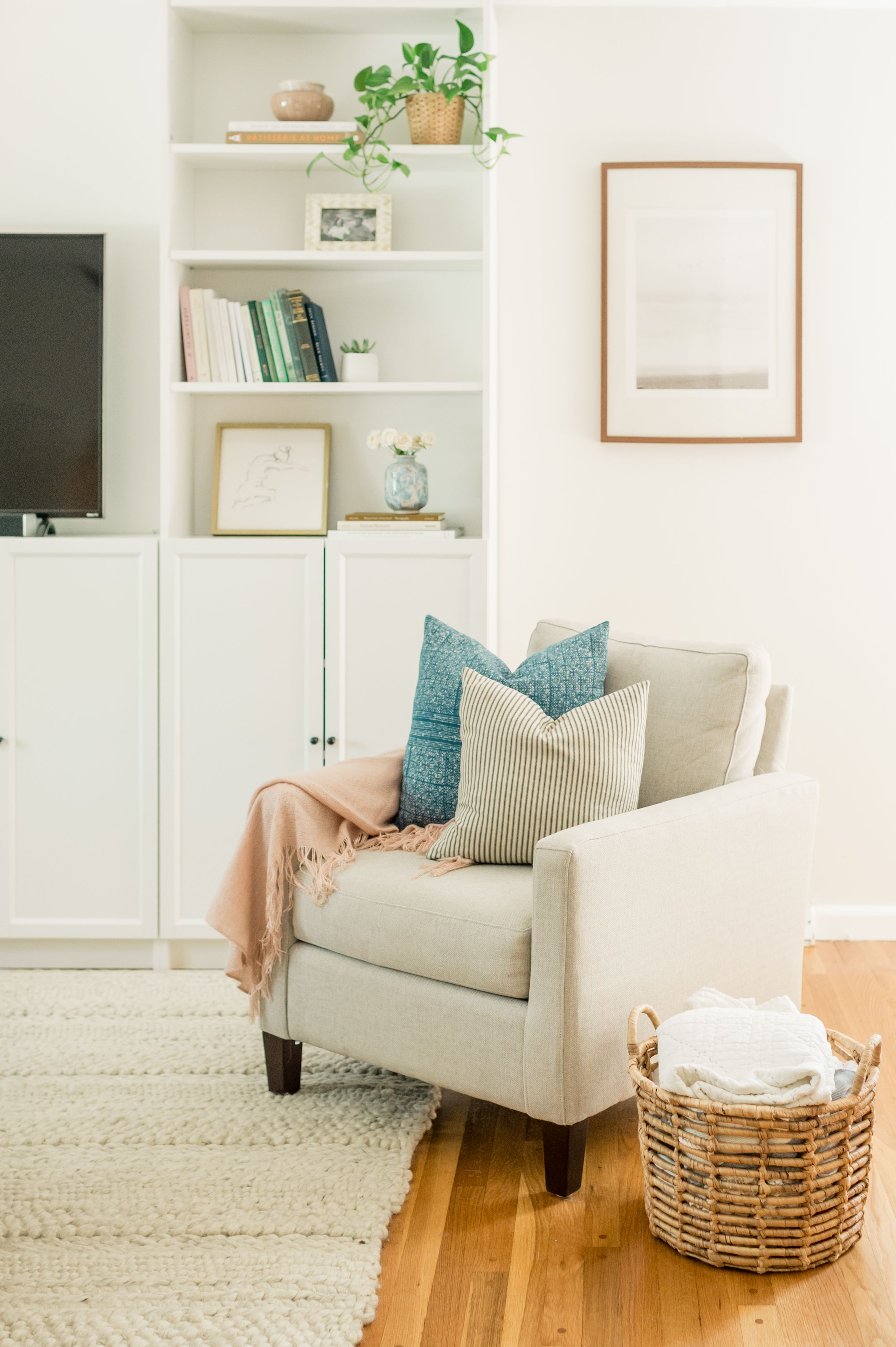 Our Living Room Makeover   Ikea living room, Ikea living ...