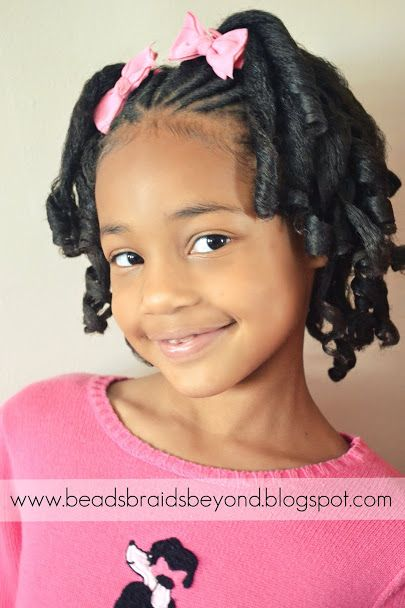 Sensational 1000 Images About Girl Hair Styles On Pinterest Kid Hairstyles Short Hairstyles For Black Women Fulllsitofus
