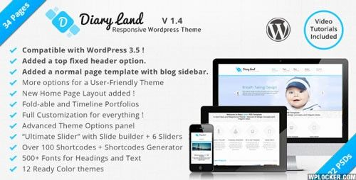 Download DiaryLand - Corporate Wordpress Responsive Theme - http://wordpressthemes.me/download-diaryland-corporate-wordpress-responsive-theme/