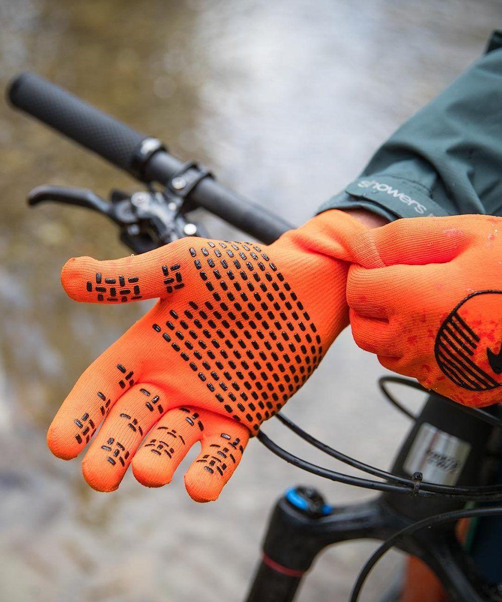 2019/20 Crosspoint Knit Waterproof Gloves Orange