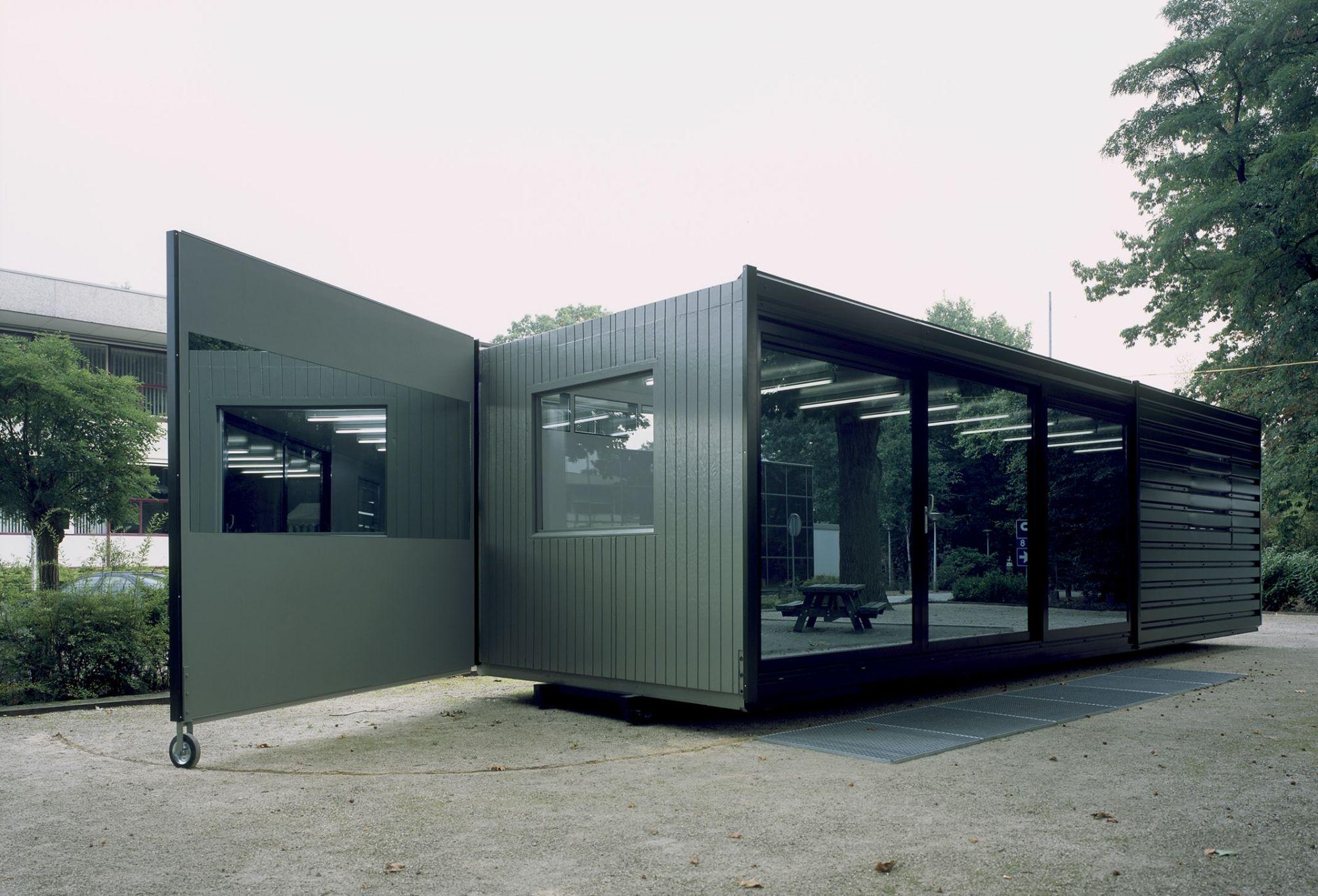 Mobile Studio Lucas Lenglet Architecture, Outdoor