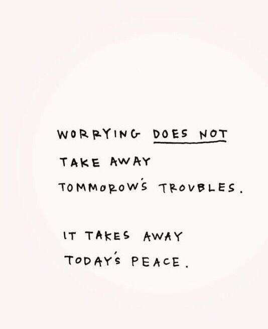 less worry. #selfcare #selflove #positivequotes #quotestoliveby #haveagoodday #positivemindset #positivevibes #quoteoftheday #weheartit #quotes #foundonweheartit