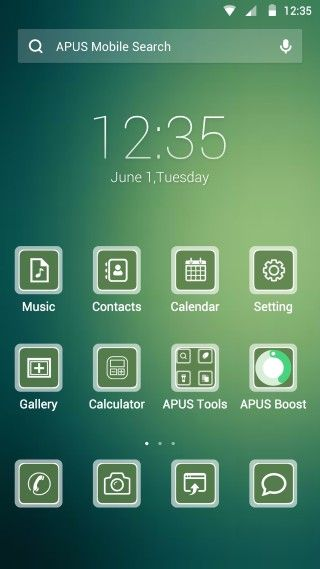 Cool summer - Theme for Android phone from APUS Launcher