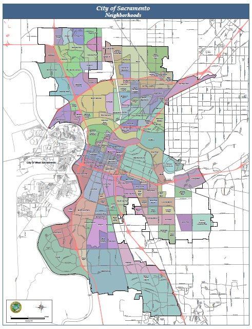 City Map The neighbourhood, Ballet events, City map
