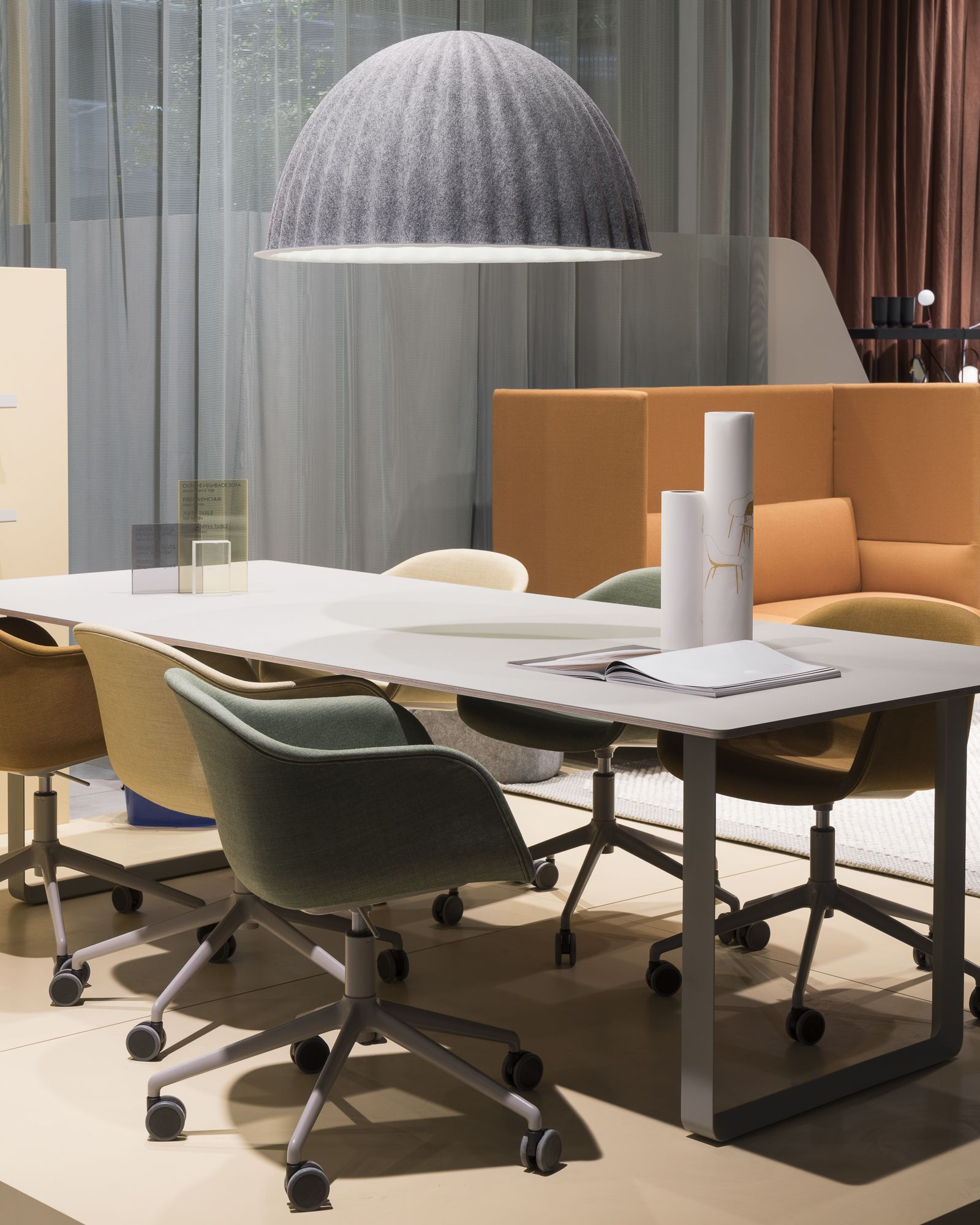 Scandinavian lighting inspiration from muuto under the bell is a pendant lamp that is multi