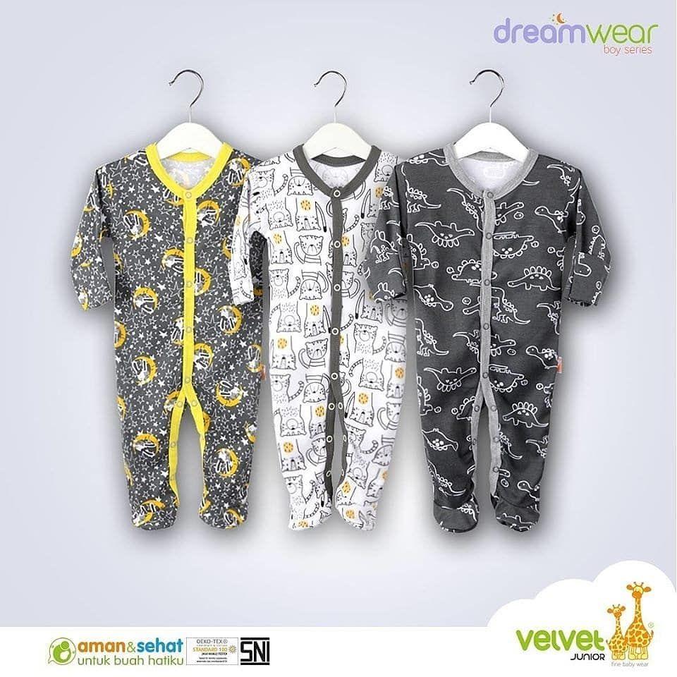 Baju Bayi Velvet