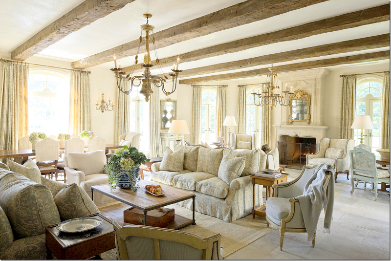 COTE DE TEXAS Wonderful mix of styles in this stunning living space
