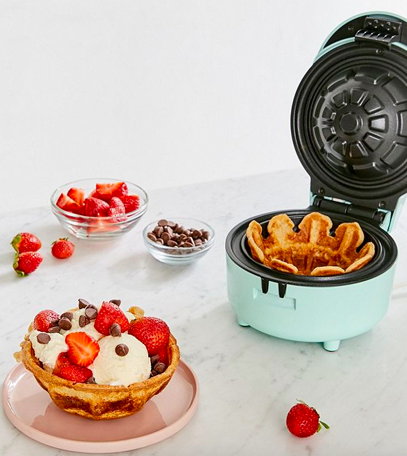 A keyboard waffle iron, ice cream ball, waffle bowl maker, and 24 other products that'll trick you into cooking up something delicious!