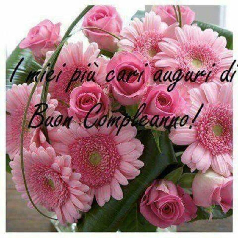 Frasi di Auguri per Buon Compleanno con i fiori (3) | Buon