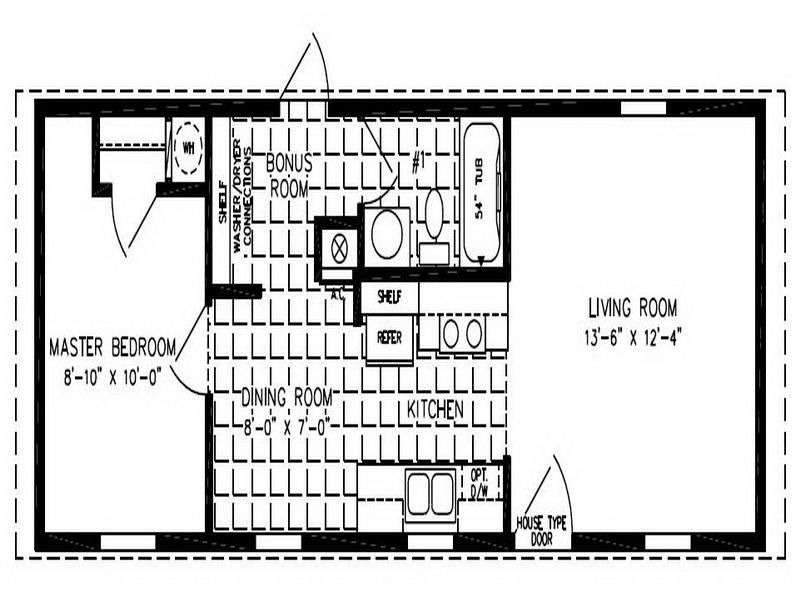 Small Double Wide Mobile Home Floor Plans Ideas http