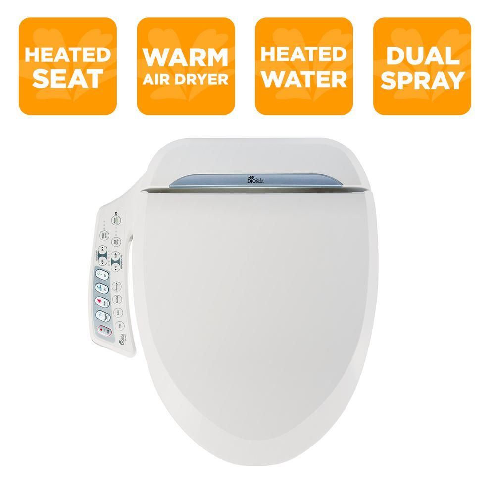 Biobidet Ultimate Series Electric Bidet Seat For Elongated Toilets