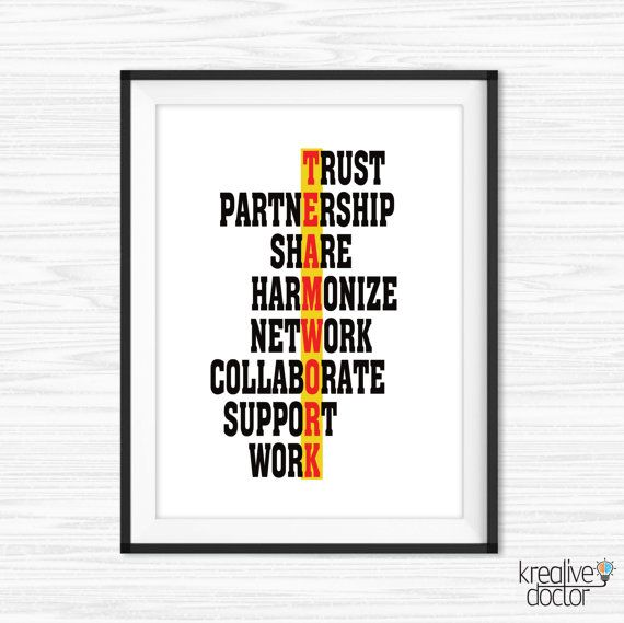 Office Wall Art Success Quotes Printable Office Quotes Canvas Quote ...