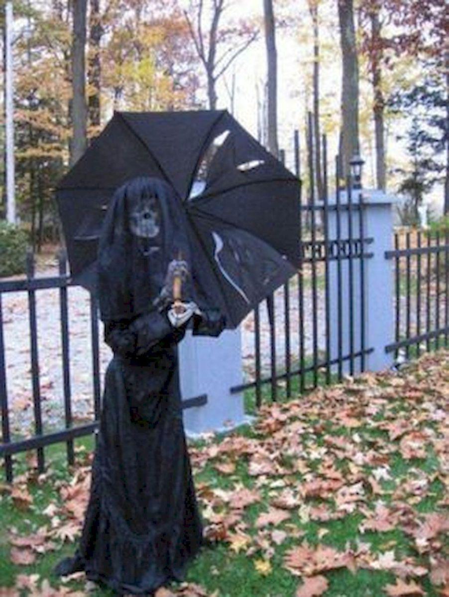 80 Creepy Outdoor Halloween Decoration Ideas 64 Halloween