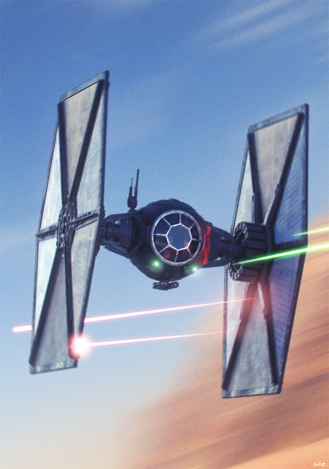 Starwars First Order Special Forces Tie Fighter Dogfight Star Wars Ships Star Wars Pictures Star Wars Wallpaper