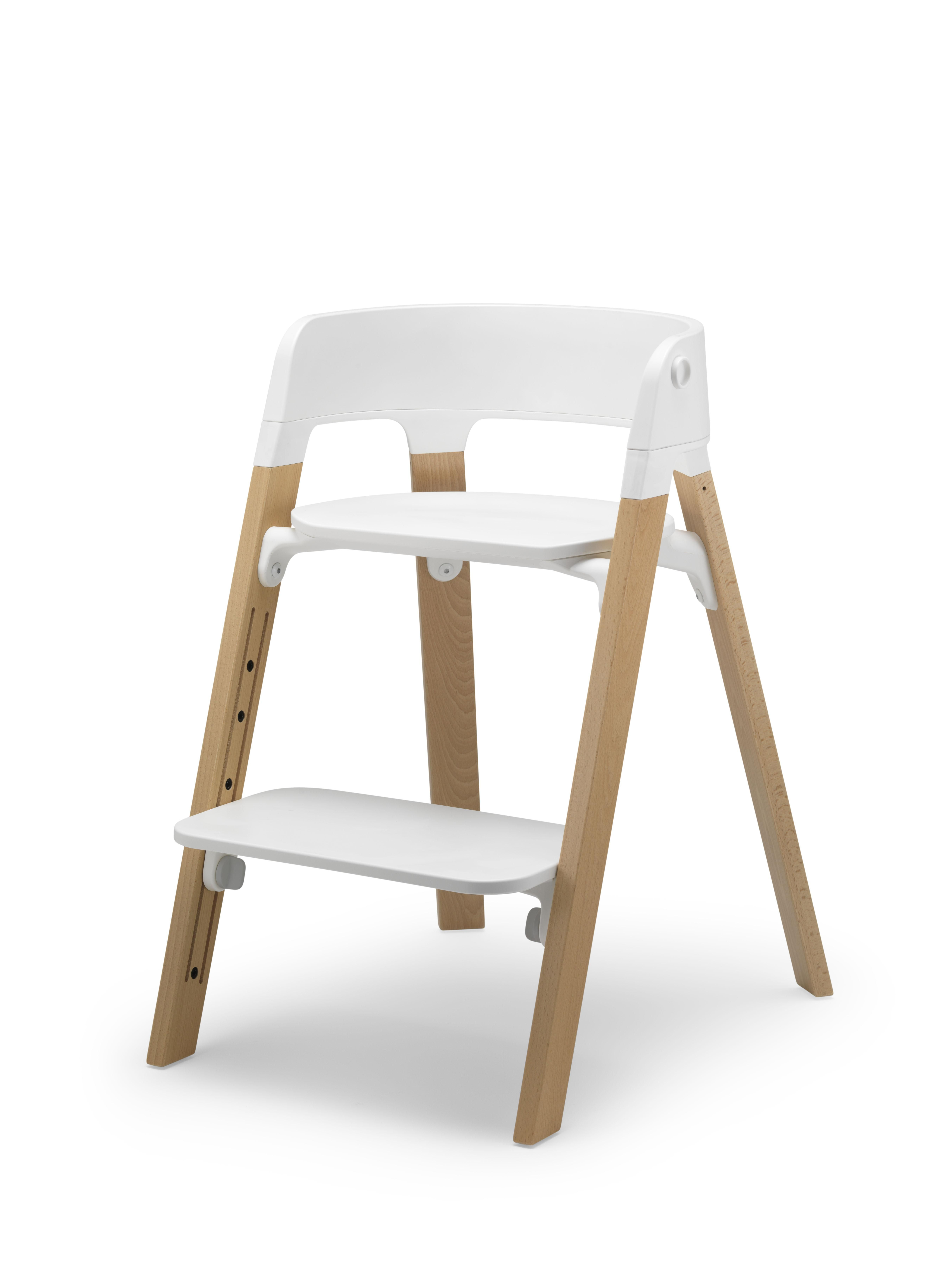 Beautiful high chair made by Scandinavian original baby and kids