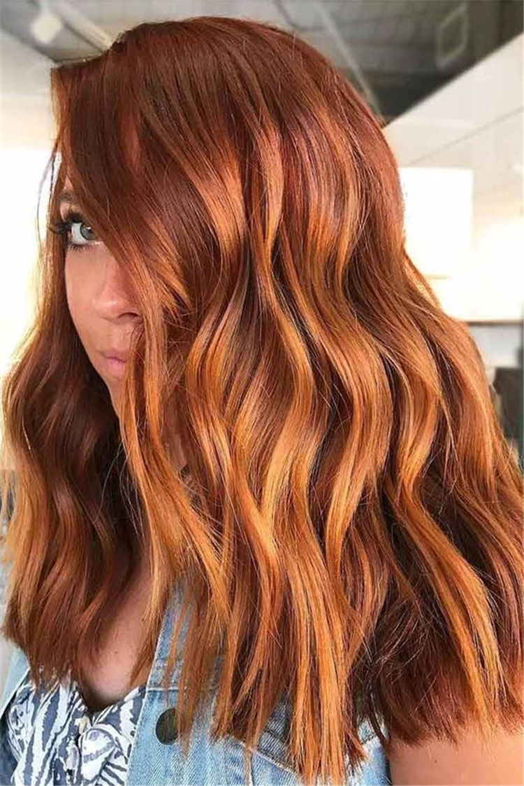 Best And Amazing Red Hair Color And Styles To Create This Summer ...