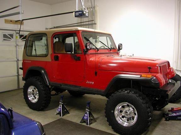 Red94yj 1994 Jeep Yj 23217240002 Large Jeep Yj Jeep Jeep Wrangler