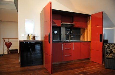 Schrankküche büro  Schrankküche | Einliegerwohnung | Pinterest | Einliegerwohnung und Raum