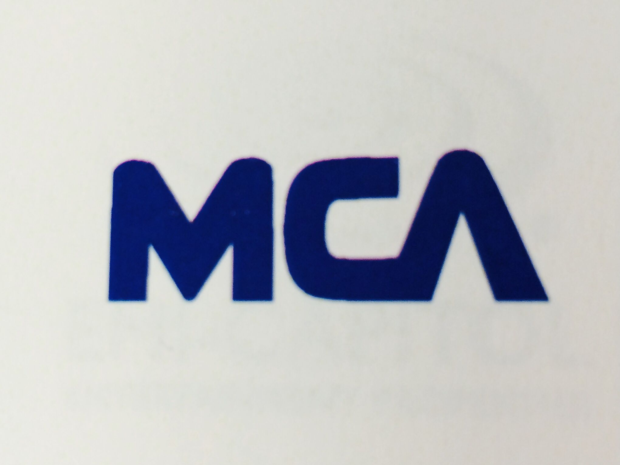 Mca Records Logo Logos By Rod Dyer Design Pinterest