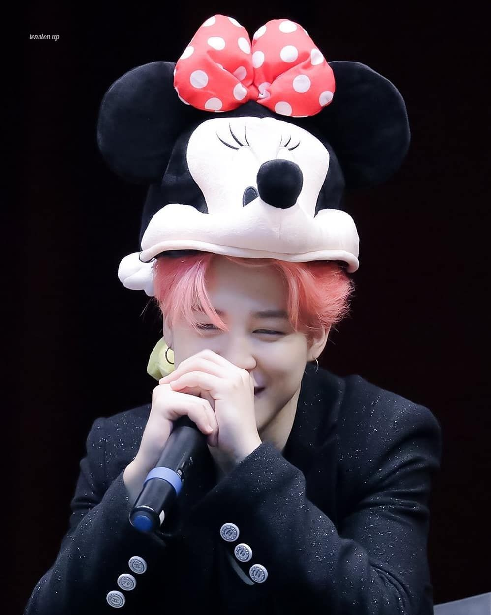 Jimin Cute Jimin Bts Jimin Bts Bts jimin wallpaper mickey mouse