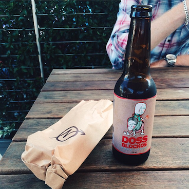 It's Saturday afternoon Beer time. #dossblockos #palelager #east9thbrewing