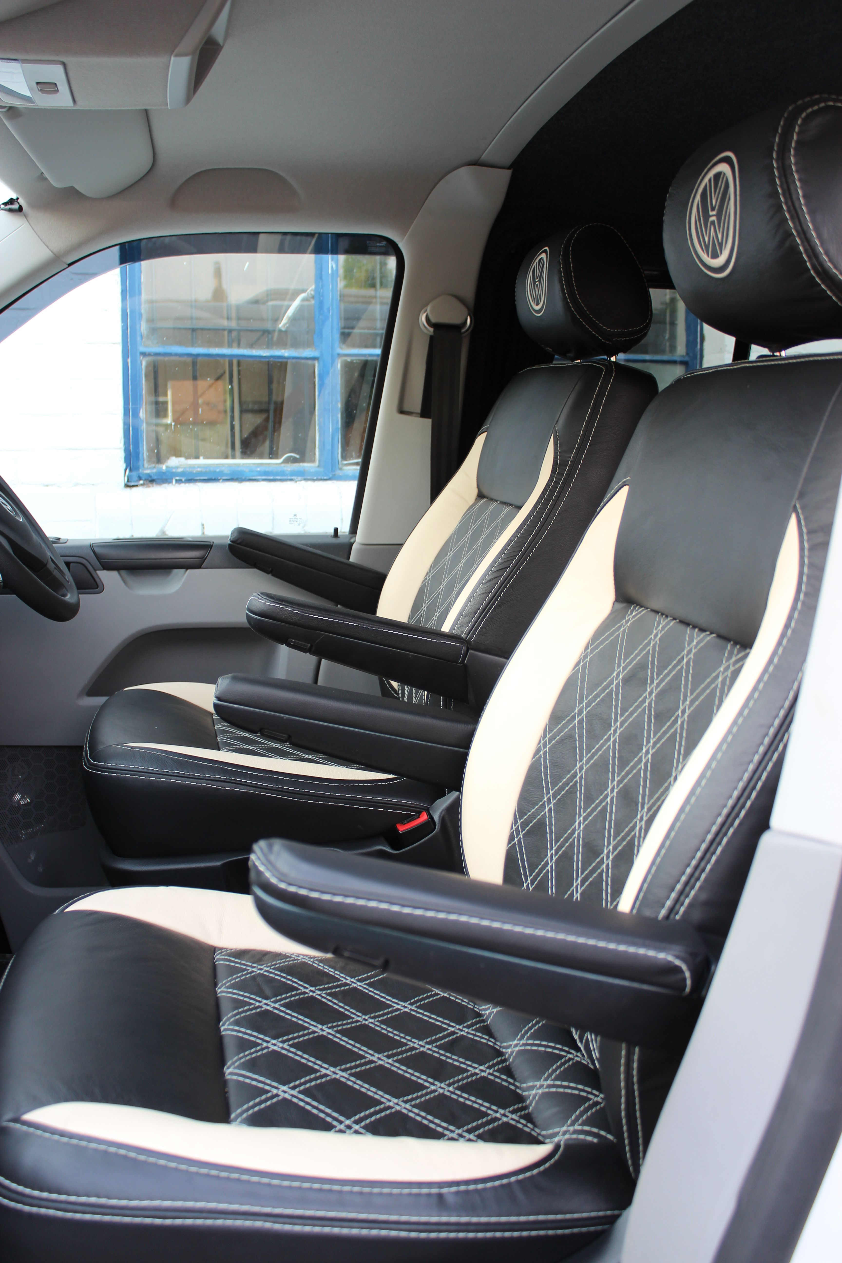 We have just fitted these gorgeous VW T5 Captain s chairs re