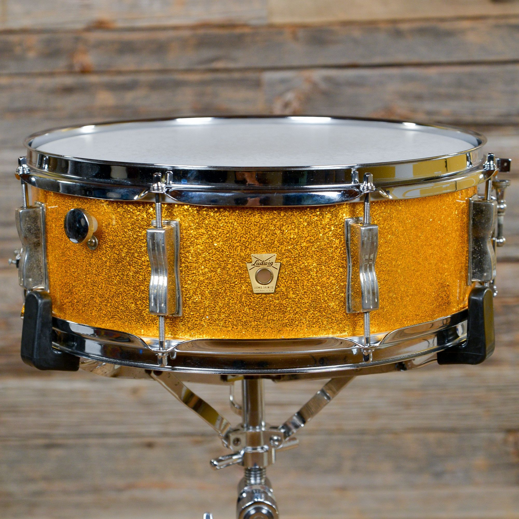 ludwig 5x14 jazz festival snare drum gold sparkle late 60s drums pinterest jazz festival. Black Bedroom Furniture Sets. Home Design Ideas