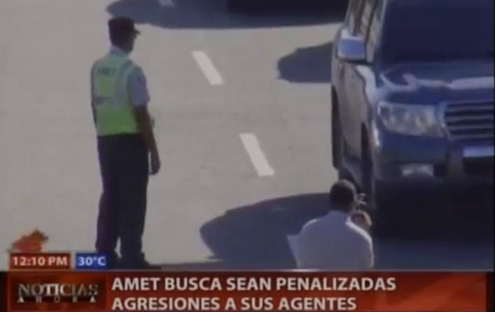 AMET Busca Sean Penalizadas Agresiones A Sus Agentes #Video