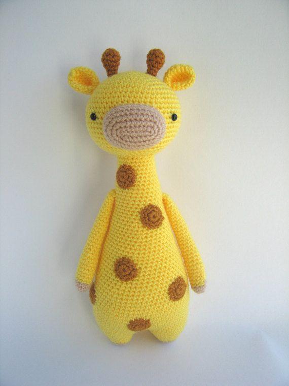 Jirafa con manchas - Patrón de crochet | proyectos | Pinterest ...