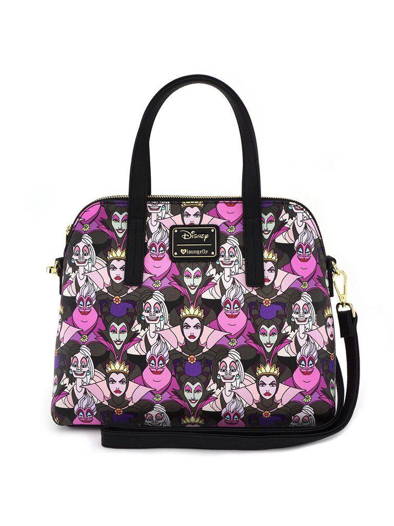 43c0d0520092 Loungefly Disney Female Villains Malificent Ursula Crossbody Bag Purse –  moodswingsonthenet