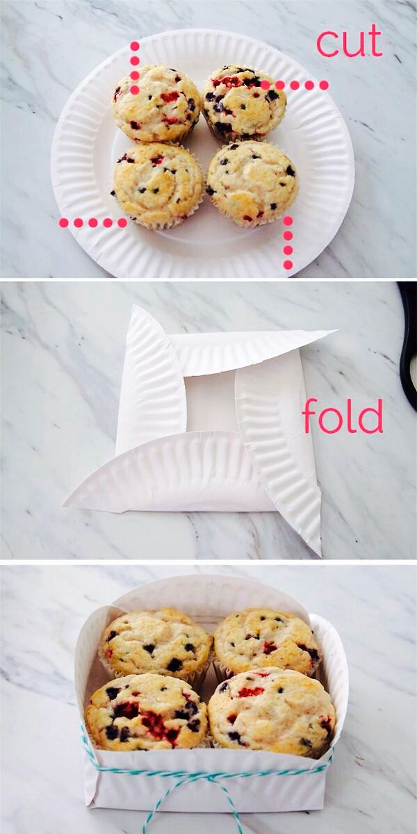 Paper plate box & Paper plate box | great idea | Pinterest | Paper plate box Box and ...