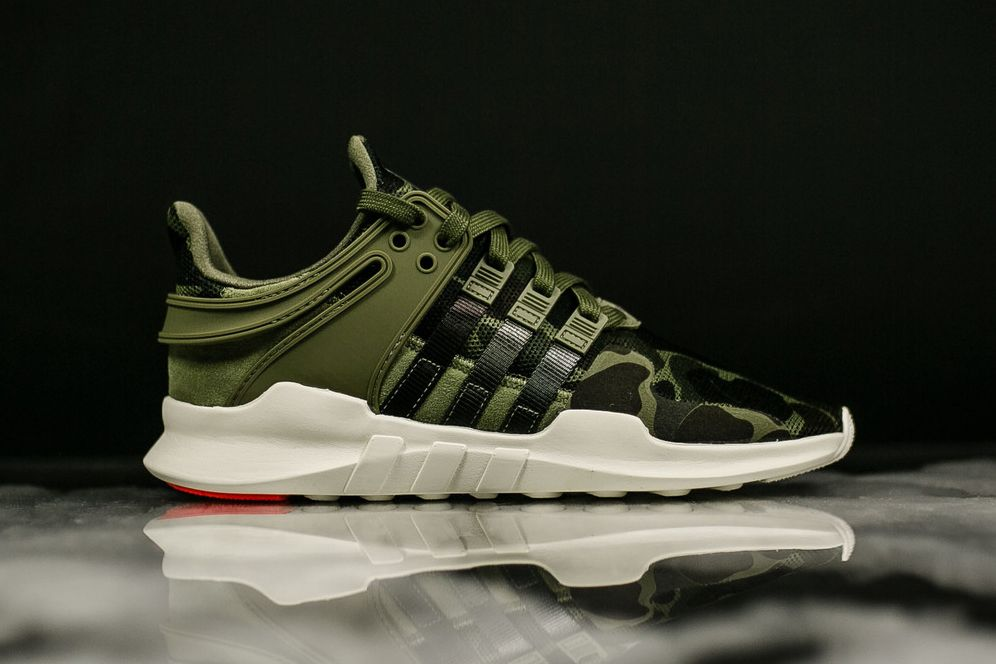 timeless design 755f0 ad892 adidas Camo Pack of EQT Support ADVs Is Here