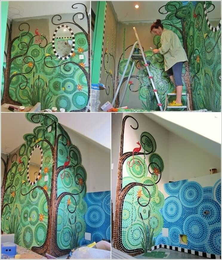 10 mosaic wall art ideas that will leave you mesmerized 1 - Mosaic Design Ideas